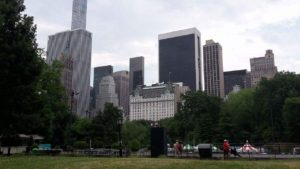 Parken er nu skøn, det vi nåede at se...