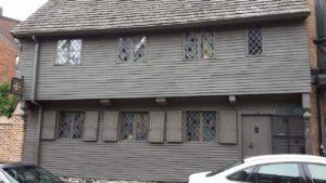 Paul Reveres hus, står her stadig