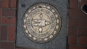 Freedom trail - vejen til historien...