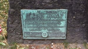 Samuel Adams hvilested