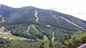 Taget oppe fra toppen af Bald Mountain